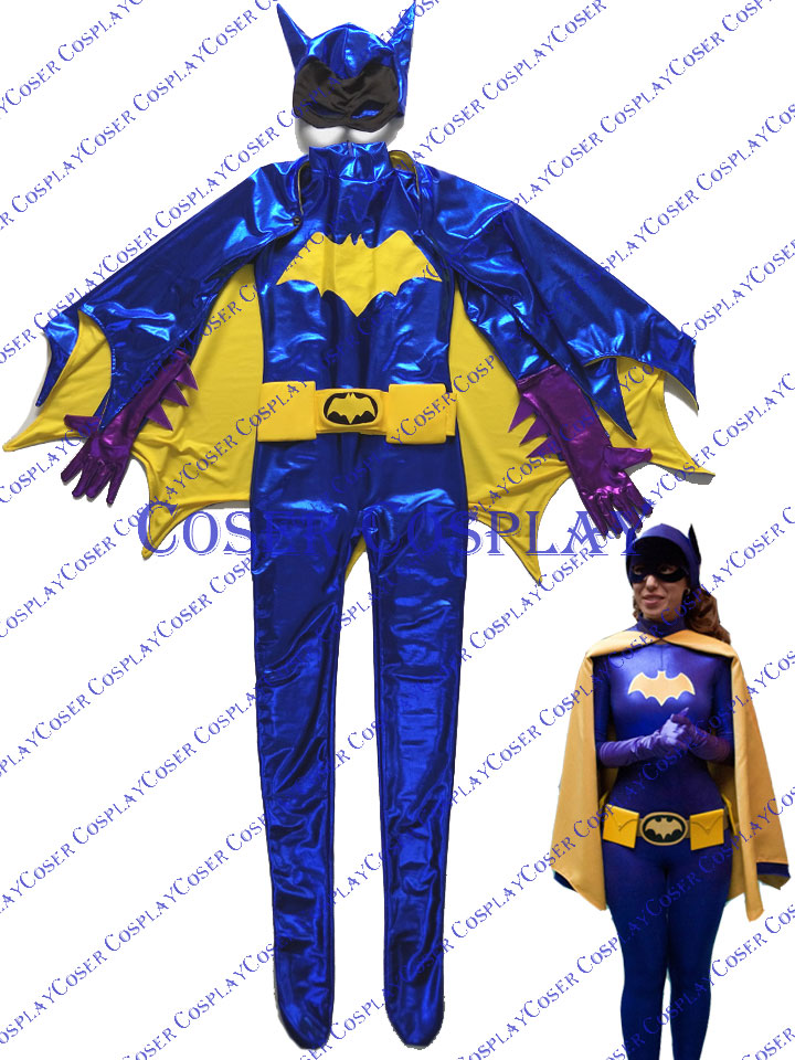 2019 Batgirl Barbara Gordon Bodysuit Cosplay Costume Halloween 0428
