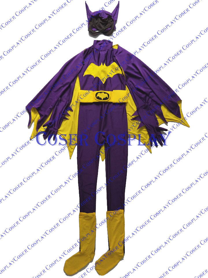 2019 Batgirl Barbara Gordon Sexy Cosplay Costume Halloween 0428