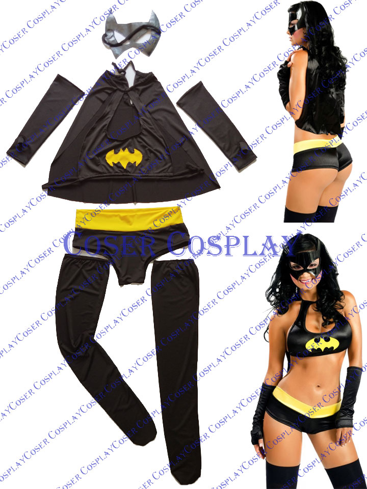 2019 Batgirl Barbara Gordon Sexy Halloween Costumes For Women 0428