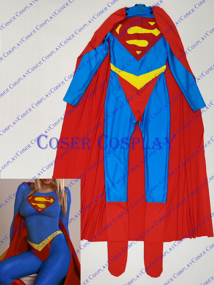 2019 Supergirl Sexy Halloween Costumes For Women 0421